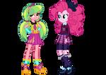 Wondercolt Lemon Zest and Shadowbolt Pinkie Pie