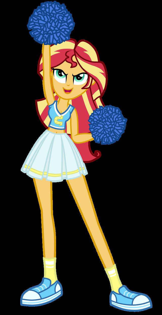 Cheerleader Sunset Shimmer By MixiePie On DeviantArt