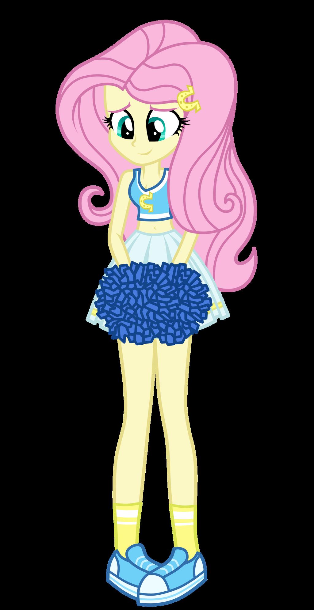 Cheerleader Fluttershy by MixiePie