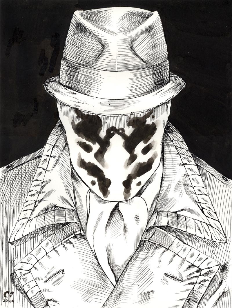 Rorschach by daikkenaurora