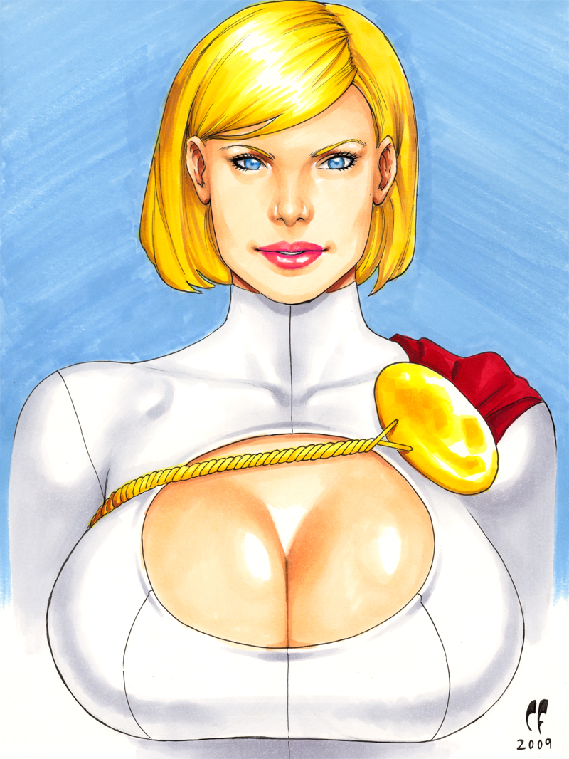 Power Girl Theron by daikkenaurora