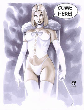 Emma Frost -- Come Here