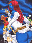 Mystique and friends