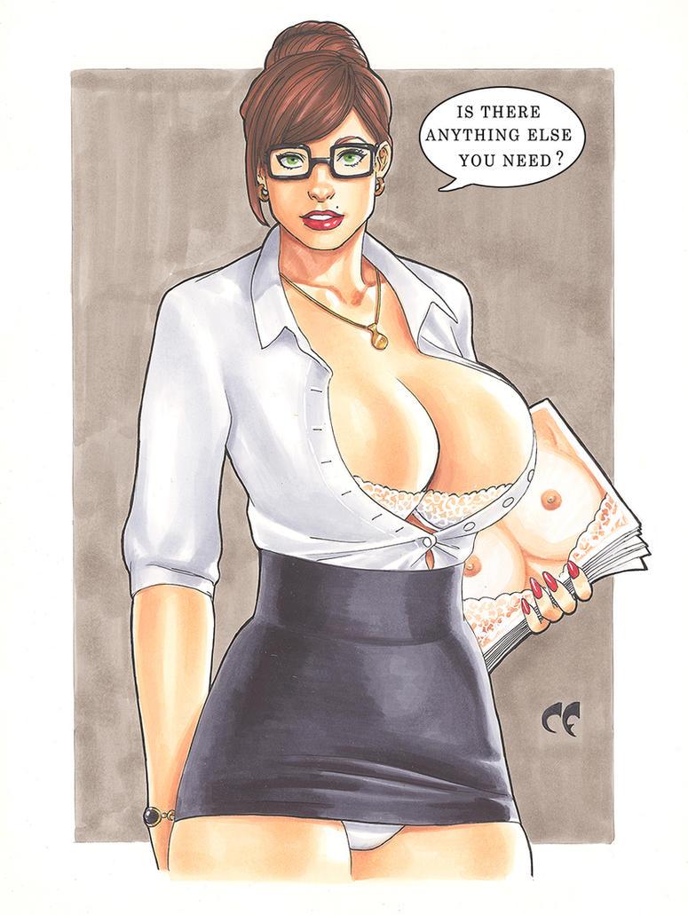 Secretary Breast Copies by daikkenaurora