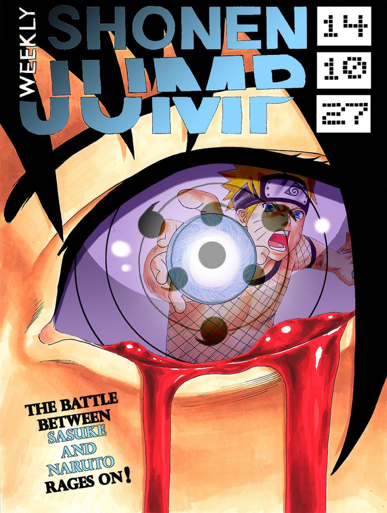 Naruto Shonenjump Cover Art Contest by daikkenaurora