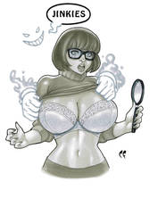 Velma from Scooby Doo by daikkenaurora