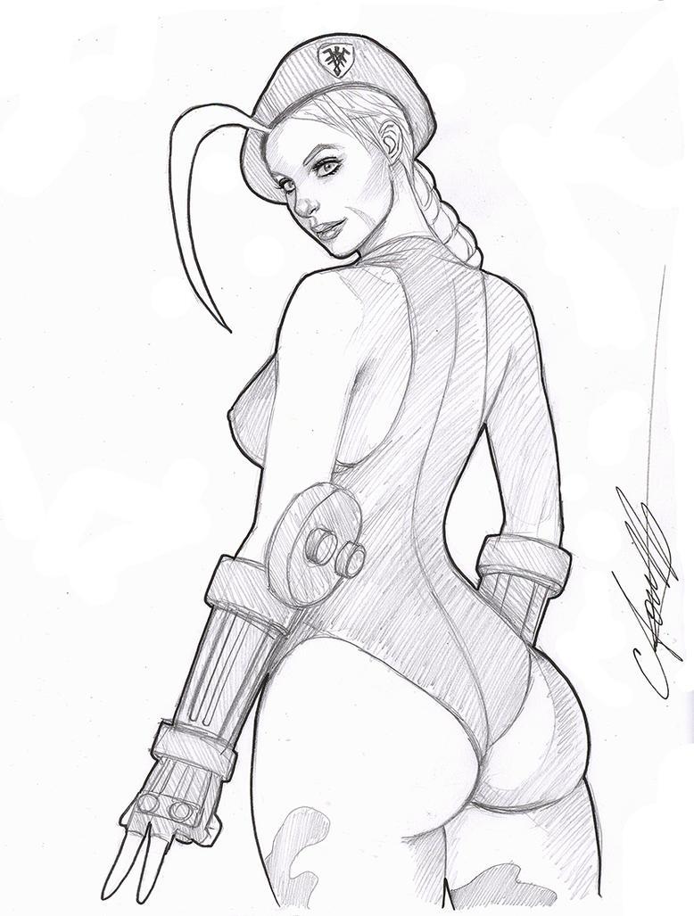 Cammy Sketch by daikkenaurora