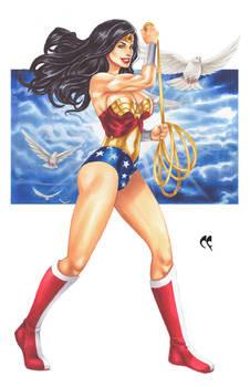 Wonder Woman Art Exhibit