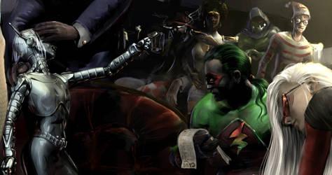 Knight Murder Slice 3 by Dark-Ether