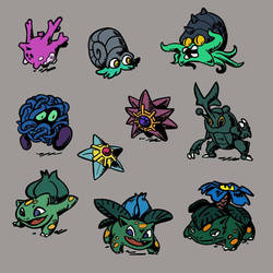 Other Mangrovian Pokemon, page 1