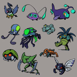 Other Mangrovian Pokemon, page 2