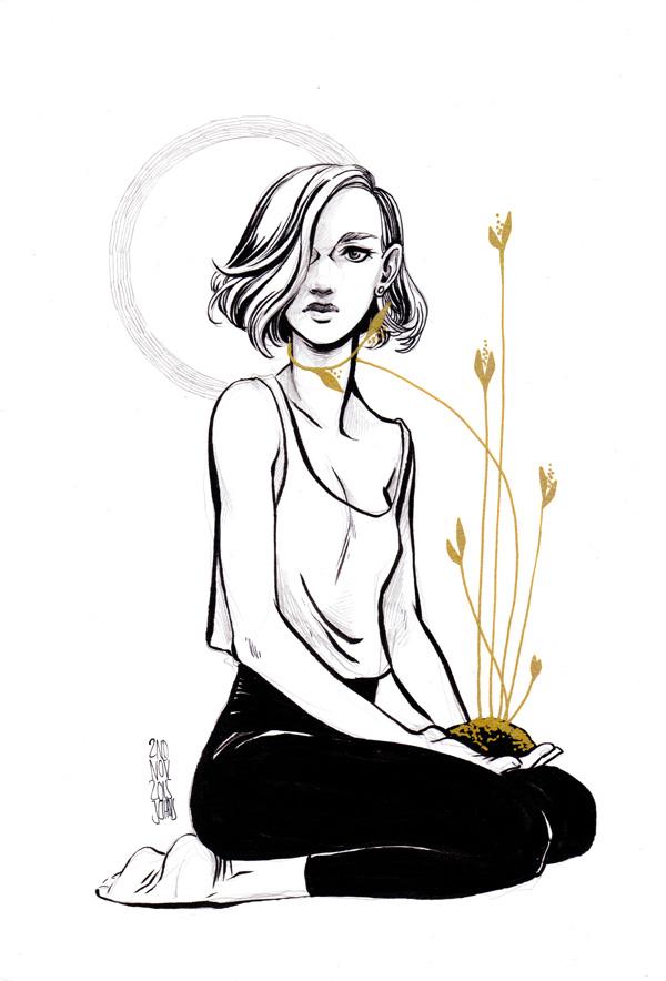Girl 20151102 by Viszera
