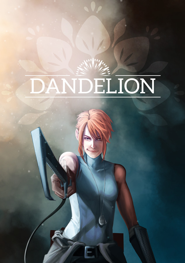 Dandelion Comic Promo Cover by Viszera