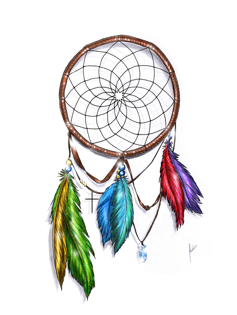 WwwDreamCatchersOrg Dream Catcher Color by packness on DeviantArt 7