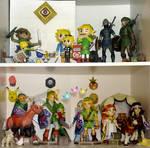 Zelda Papercraft Collection