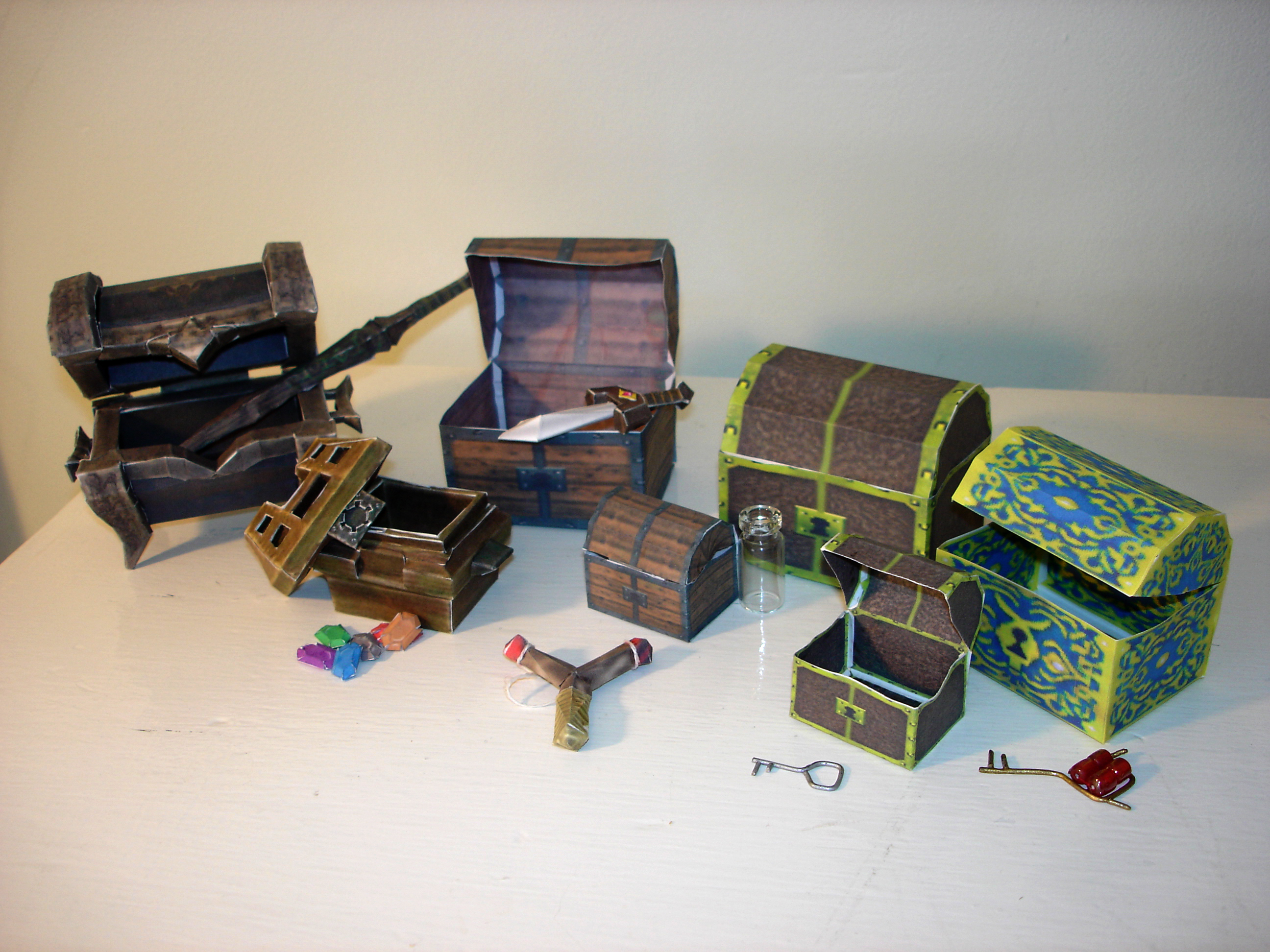 Zelda Treasure Chests by sah24