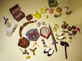 New Zelda 64 Items Update by sah24