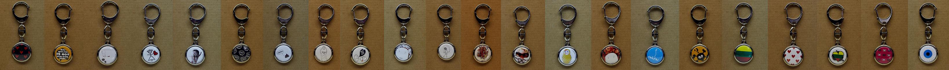 Keychains by dblg
