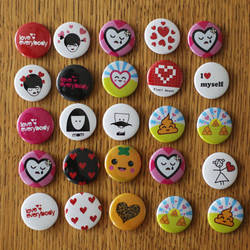 Button Badges Set by dblg