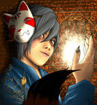 Kitsune by coffeelover