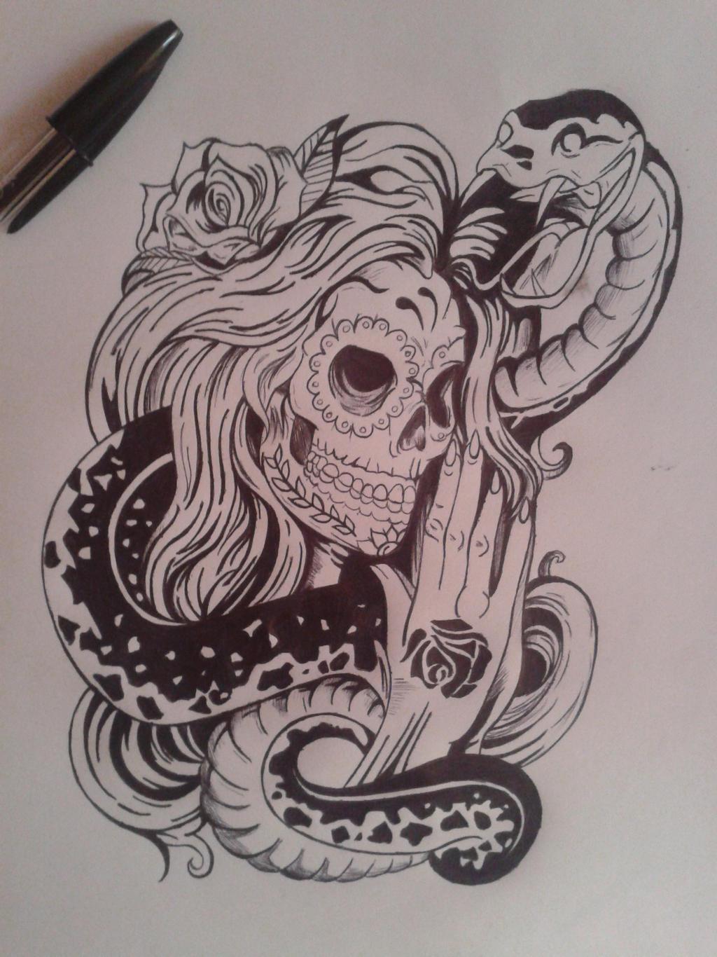 Santa Muerte 3 By Sabraina On DeviantArt
