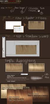Simple Sleek Hair Tutorial