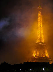 Smokey Eiffel Tower