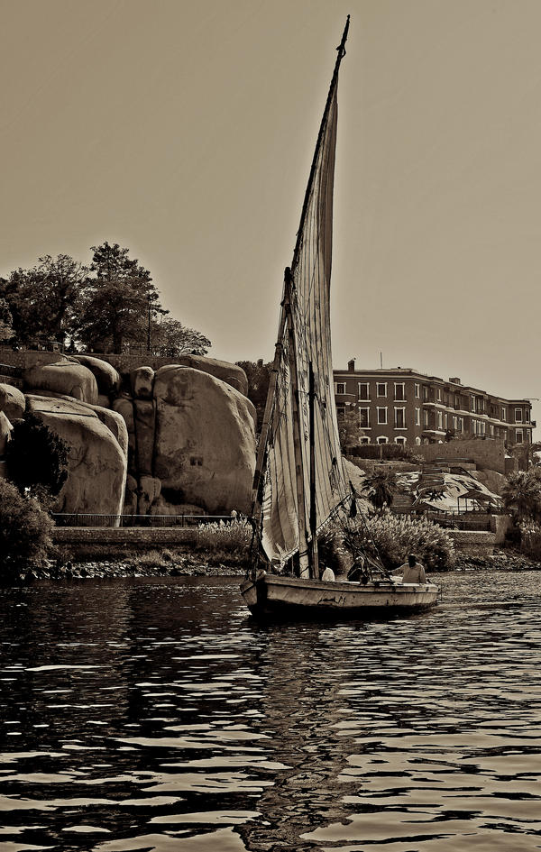 Around Aswan by Yousry-Aref