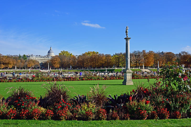 Jardin du luxembourg by yousry aref on deviantart for Art du jardin zbinden sa