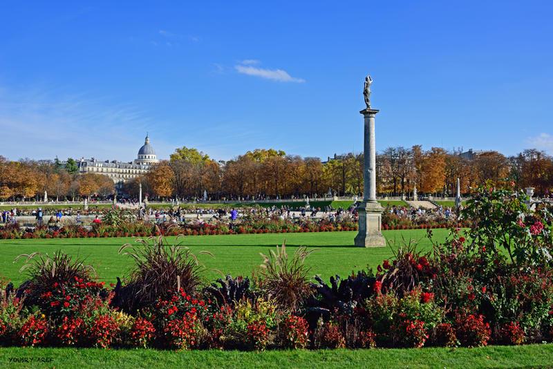 Jardin du luxembourg by yousry aref on deviantart for Art du jardin zbinden sa
