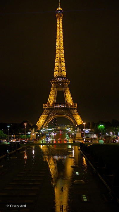 Parisian nights by Yousry-Aref