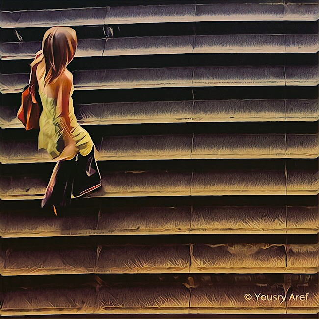 Stairway to heaven by Yousry-Aref