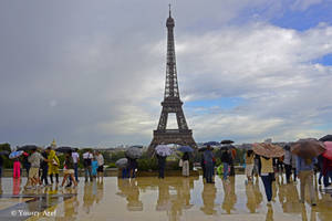 Rainy Paris by Yousry-Aref