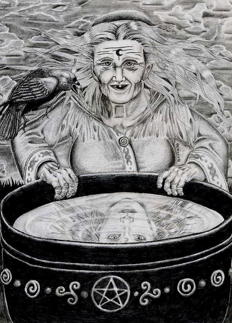 Rebirth Divination Card: The Cauldron Of Rebirth By Roguewyndwalker On DeviantArt