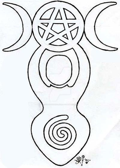 spiral goddess tattoo design by roguewyndwalker on deviantart. Black Bedroom Furniture Sets. Home Design Ideas