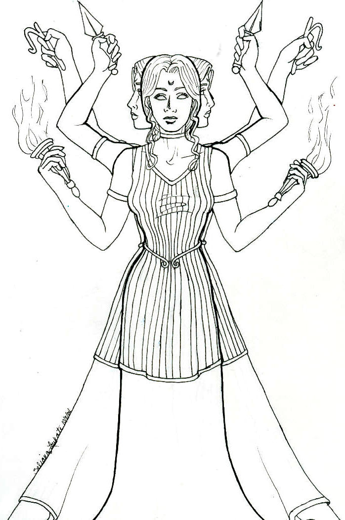 Tri Hecate Picture Tri Hecate Image