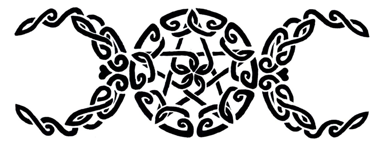Triple Goddess Tatto Design by roguewyndwalker