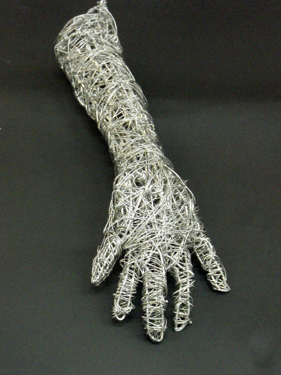 Wire arm by Mary741 on DeviantArt