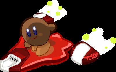 Kirby Air Ride: Brown Kirby