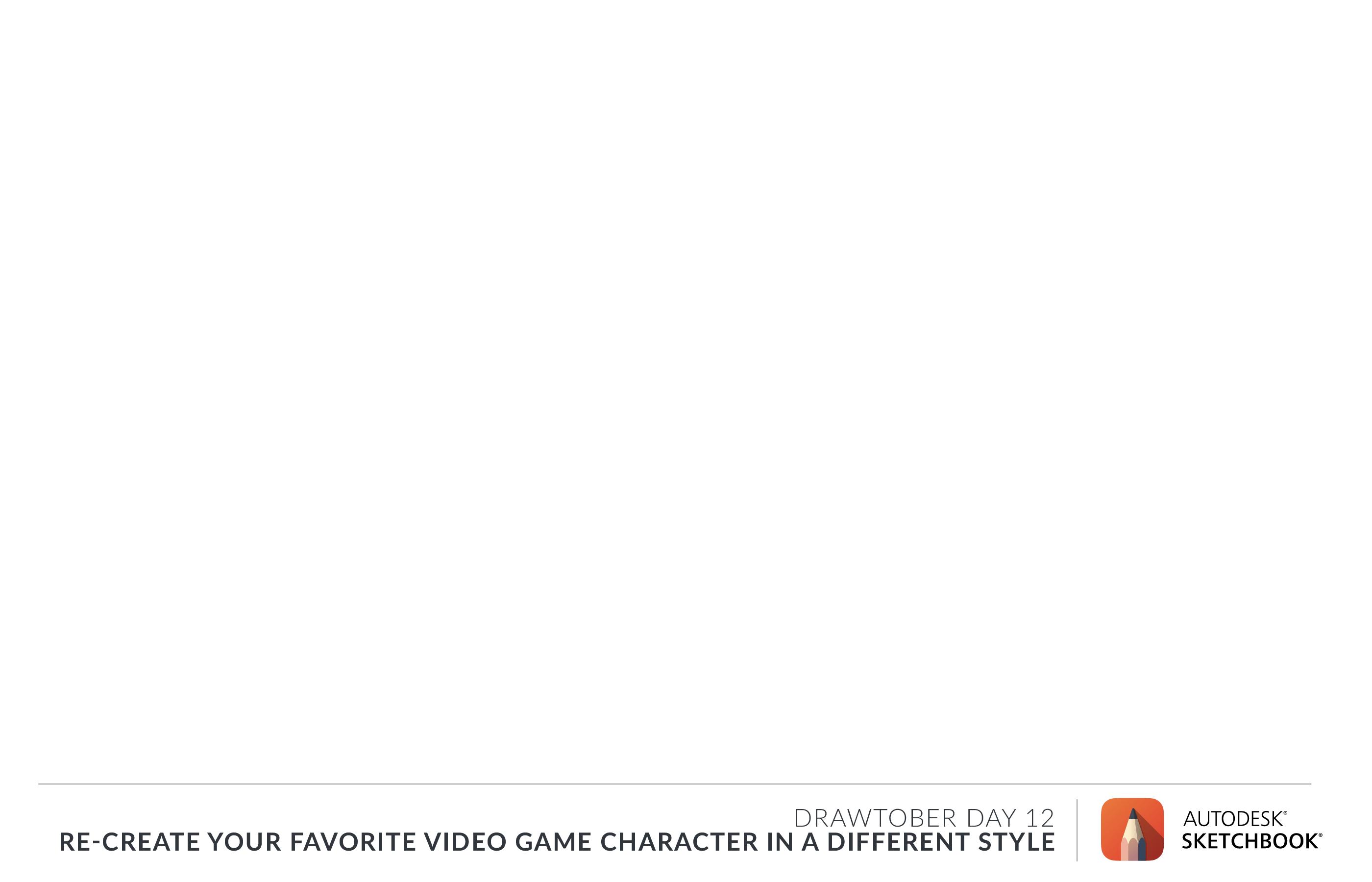 Drawtober Day 12 - Monday Media: Video Game Styles