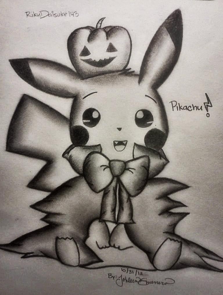Vampire Pikachu! by RikuDaisuke143