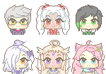 comm: Pastel Icons 3 by Bunnymee