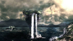 Island At Sea by cortzetroc