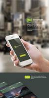 DeviantArt Mobile - Concept by cortzetroc