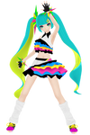 PDXHD Catch the wave miku R2