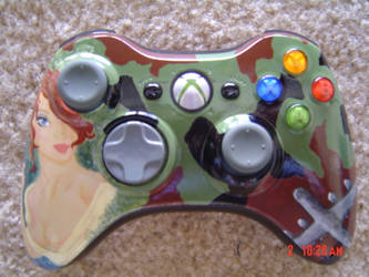 WWII-Themed XBOX Controller by ax1sp0wers