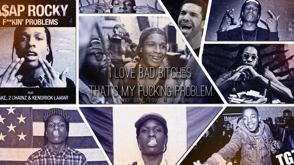 Kendrick Lamar And Asap Rocky And Drake