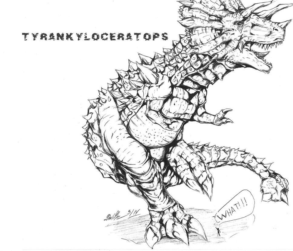 Tyrankyloceratops by Gabe-TKE