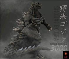 ShoraiGoji( Future Godzilla 3000) by Gabe-TKE