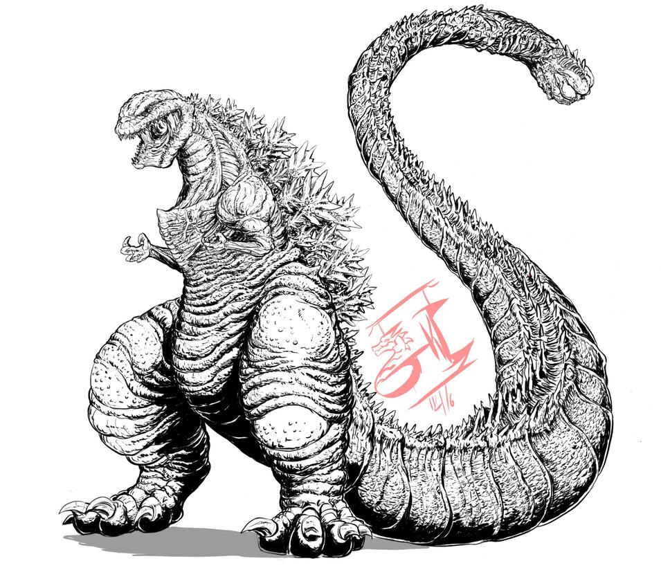 Perfect Shinu0027Godzilla ( Study) By ...